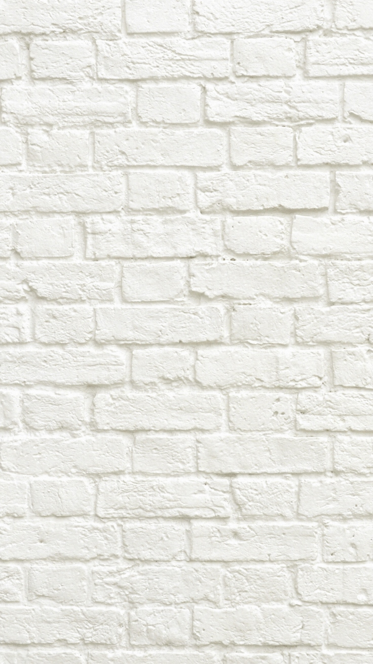 WhiteBrickPatternWallpaper